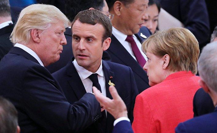 Антироссийские санкции - катализатор торговой войны Европы и США