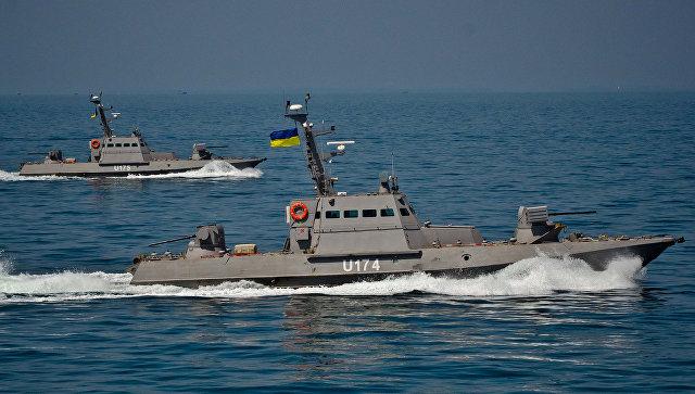 Украина начала переброску бронекатеров в Азовское море