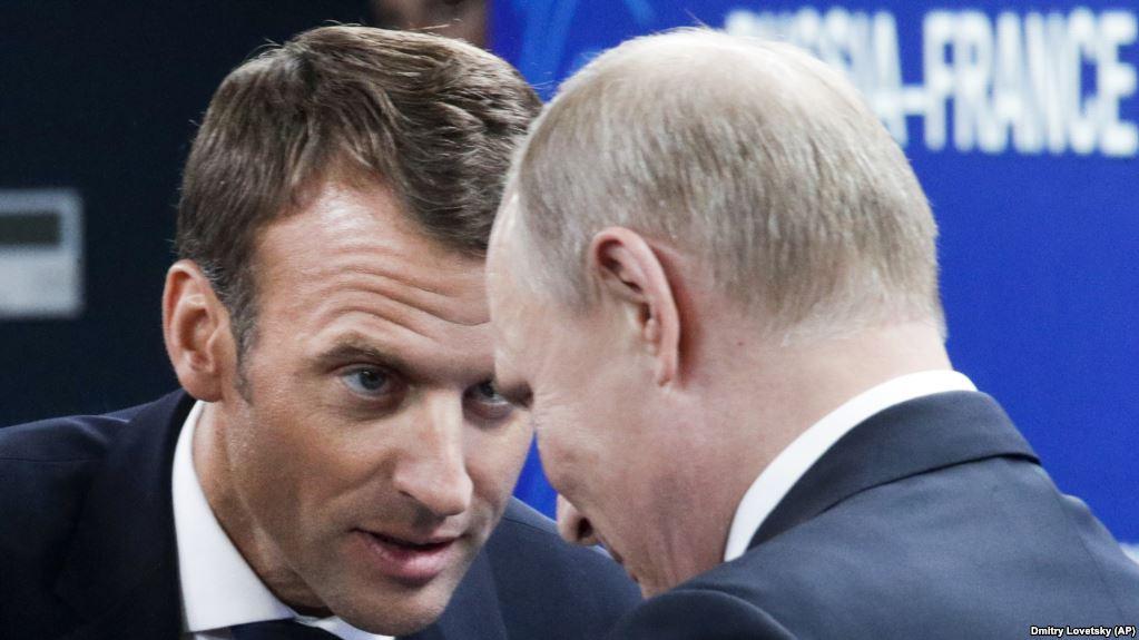 Эммануэль Макрон: Владимир Путин хочет развалить Евросоюз