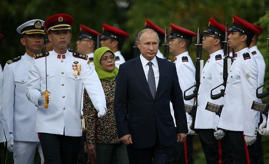 Итоги поездки Владимира Путина в Сингапур
