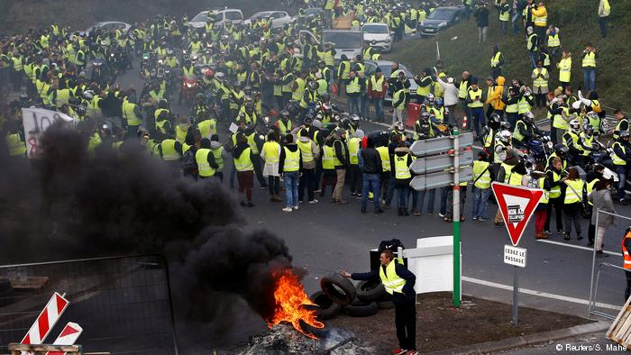 Подводя итоги последней протестной акции «желтых жилетов»