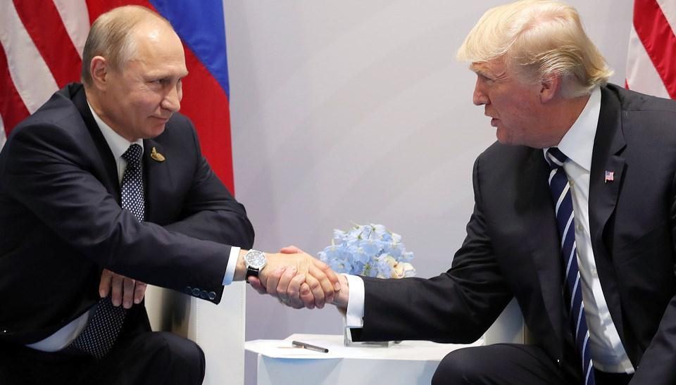 О чем говорили Путин и Трамп летом 2017 года до сих пор секрет