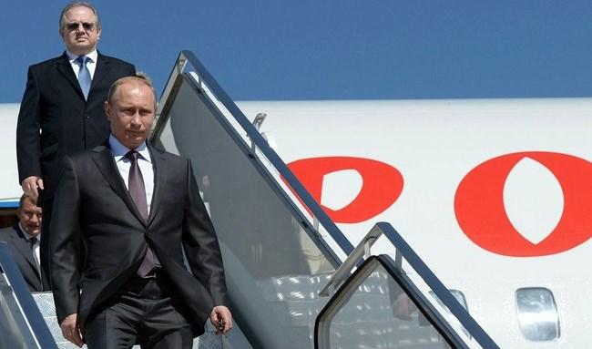 Владимир Путин прибыл в Белград с официальным визитом