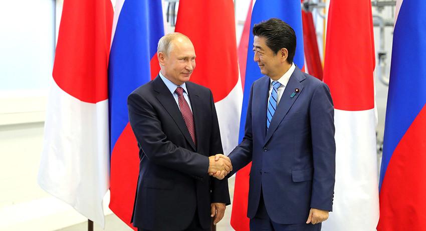 В мирном договоре нуждается Япония, а не Россия