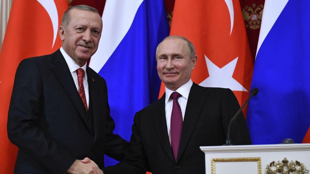 Что обсуждали Владимир Путин и Реджеп Эрдоган