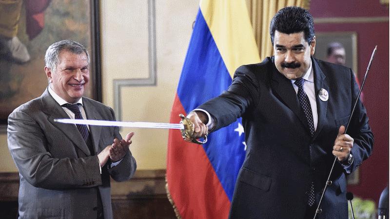 """Как Николас Мадуро и """"Роснефть"""" обвели США и Трампа вокруг пальца"""