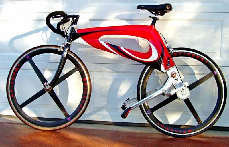 Американский велосипед NuBike с рычажной передачей