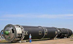 Баллистическая ракета РС-28 «Сармат»