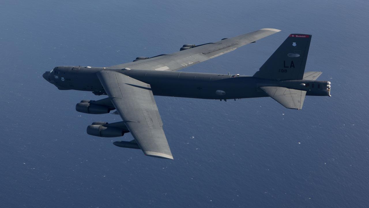 Бомбардировщики ВВС США B-52H Stratofortress отработали удар по России