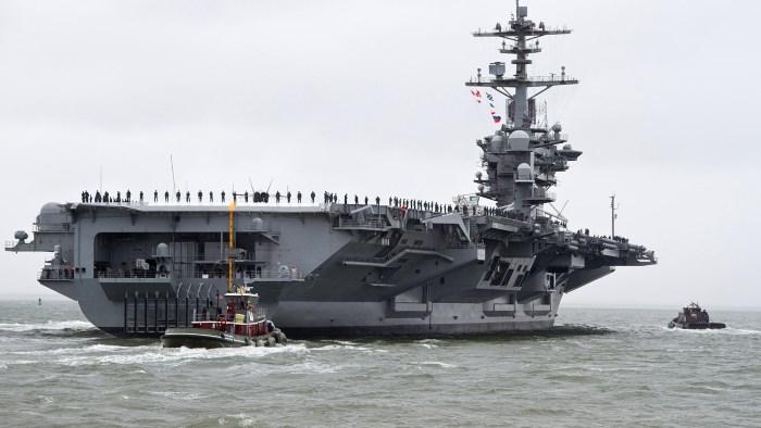 США пугают Россию авианосцами в Средиземном море