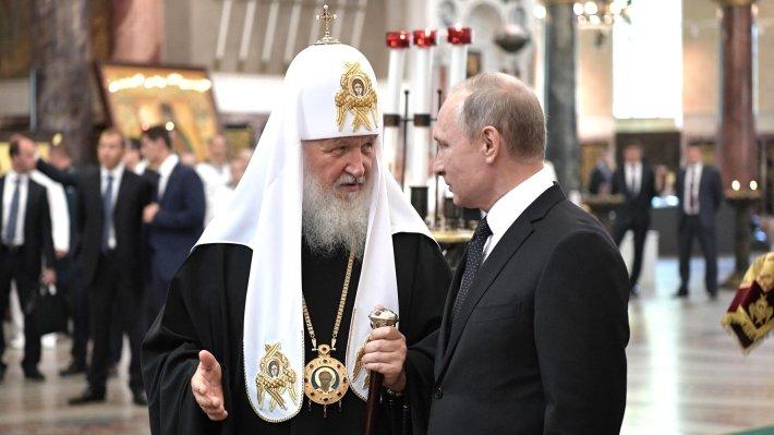 Президент РФ Владимир Путин поздравил россиян с Пасхой