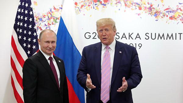 Президенты США и России против западных СМИ