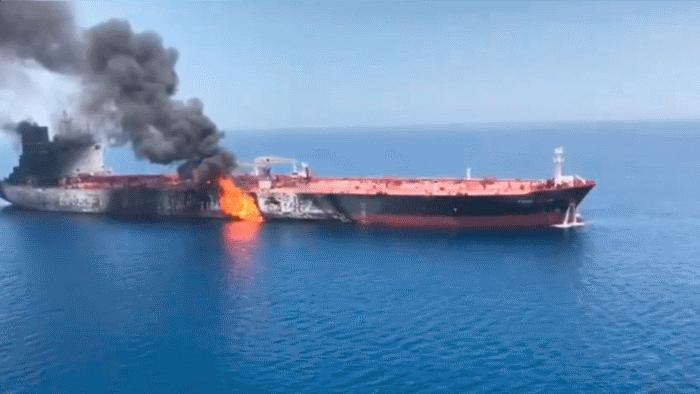 Кому выгодна атака на танкеры в Персидском заливе? Кто взорвал танкеры?