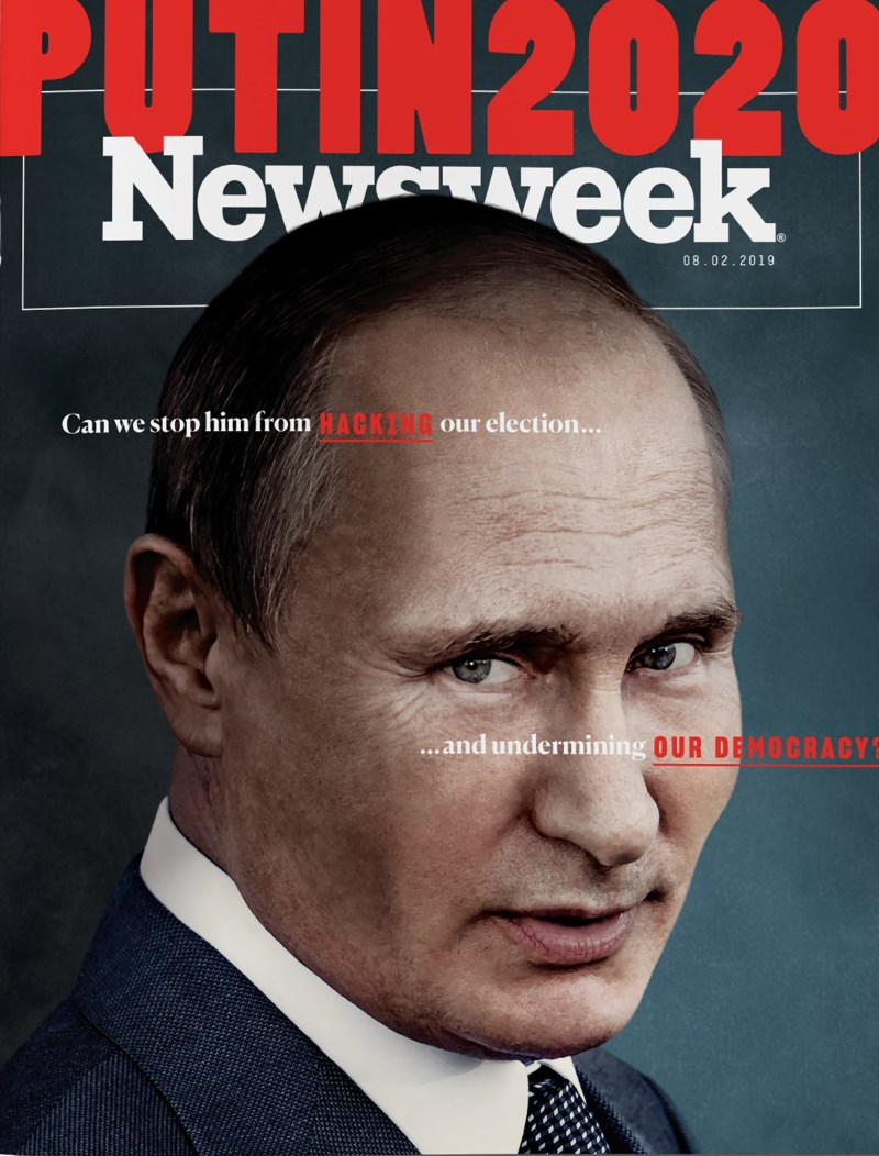"Newsweek поместил на обложку ""подрывающего демократию"" Владимира Путина"