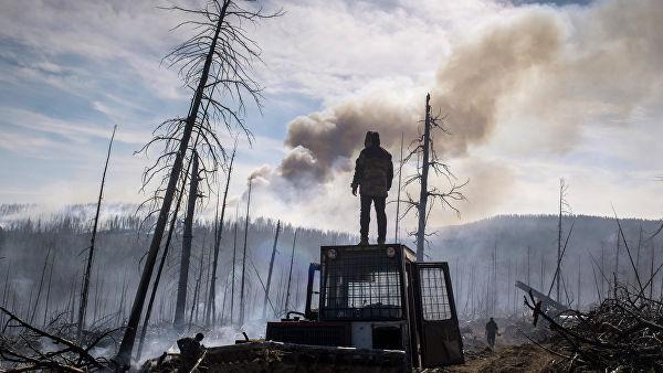Владимир Путин поручил Министерству обороны помочь в тушении пожаров