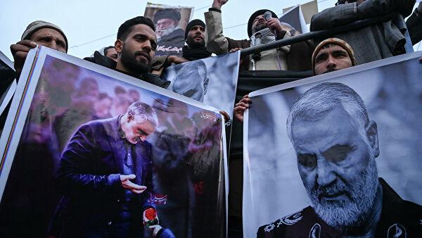 Иран пообещал ответить на убийство Сулеймани