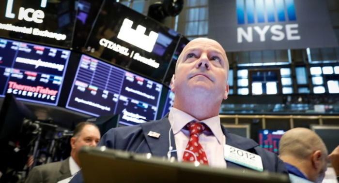 Трейдер Нью-Йоркской фондовой биржи