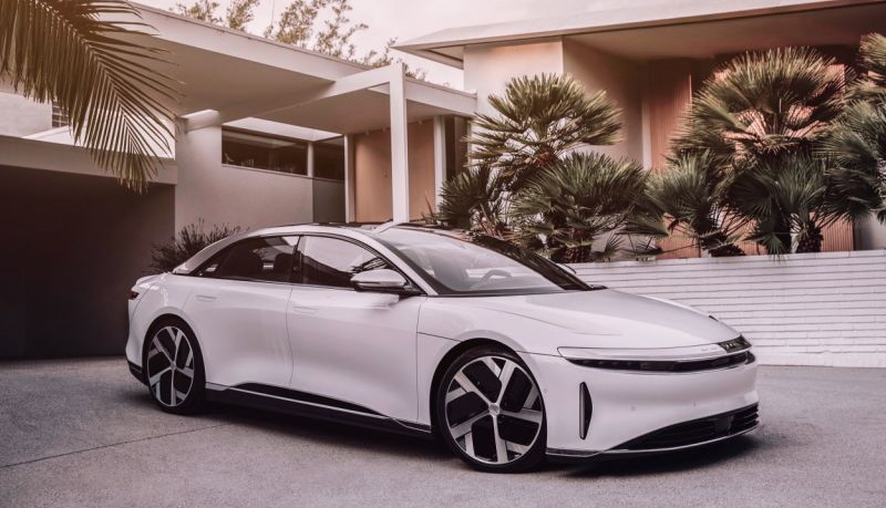Седан The Lucid Air