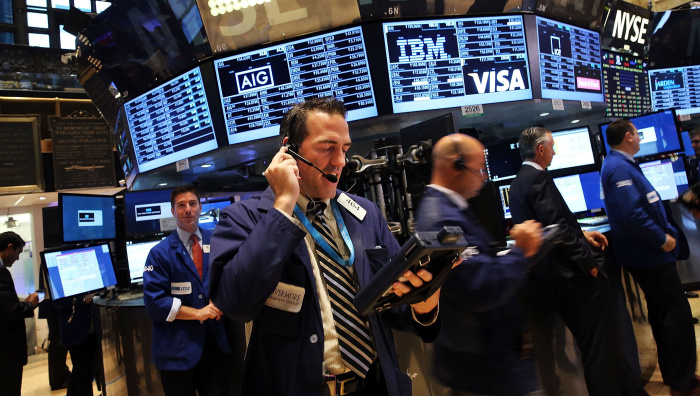 Торговый зал Нью-Йоркской фондовой биржи