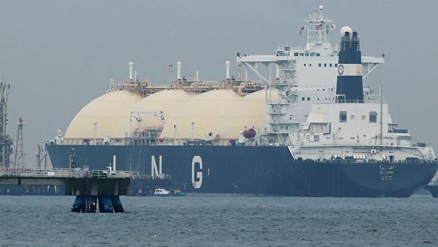 Танкер доставляет американский СПГ в Китай