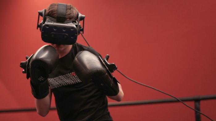 Тренировочный процесс с применением VR-технологии