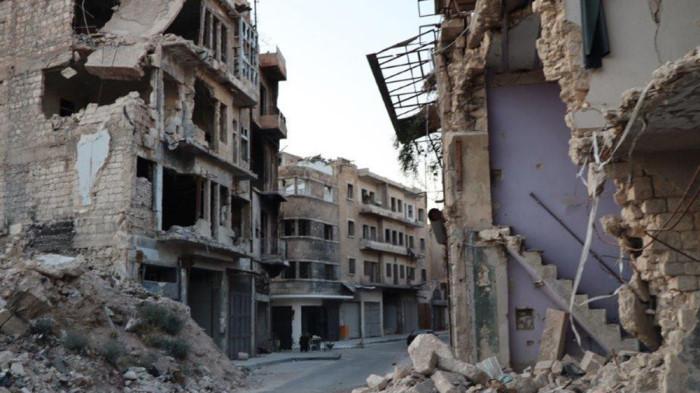 Последствия авиаудара ВВС США по Сирии