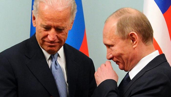 Президент США Джозеф Байден и Президент РФ Владимир Путин