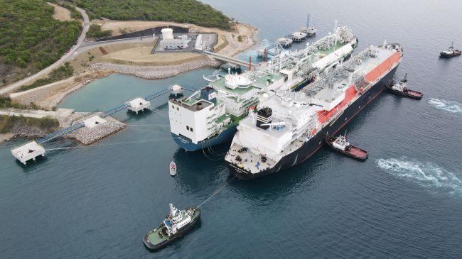 "Shell ударила по ""Газпрому"" в Хорватии... российским СПГ"