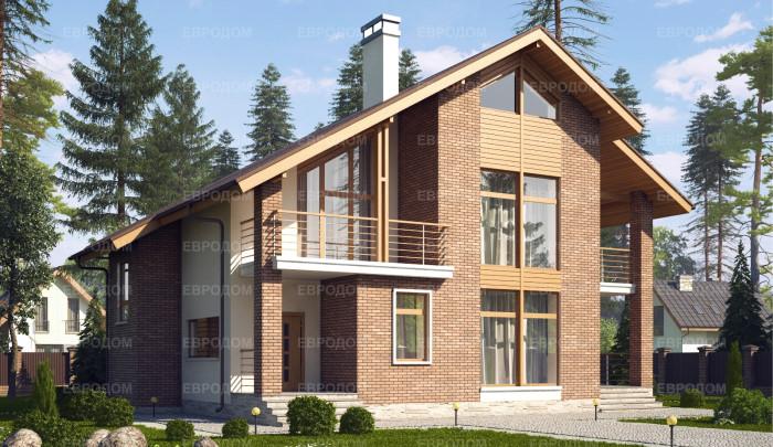 """Проект жилого дома от СК """"Евродом"""""""