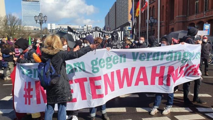 Протесты в Германии против гегемонии BlackRock