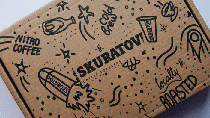 Картонные коробки с флексопечатью по бурому картону