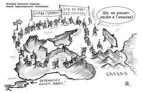 Древние укры строят Чёрное море