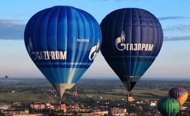Газпром показал рекордную прибыль