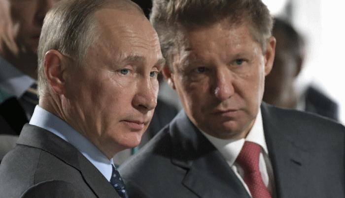 Газпром прекратил продажу газа в Европу
