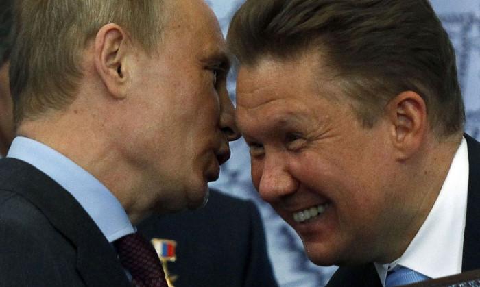 """Владимир Путин и Алексей Миллер """"регулируют"""" цены на газ"""