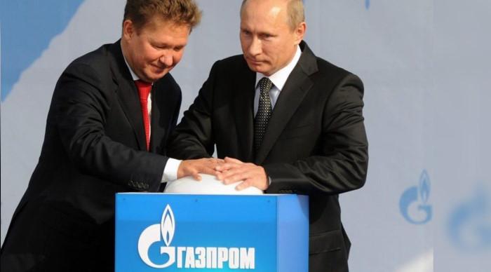 После визита Меркель Газпром увеличил поставки газа в Германию в 2 раза