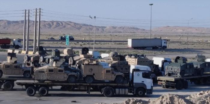 Брошенная США военная техника в Афганистане добралась до Ирана