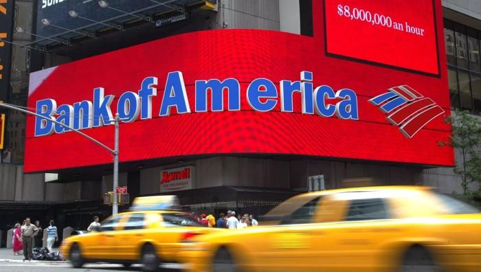 Dow Jones оценил отчётность Bank of America