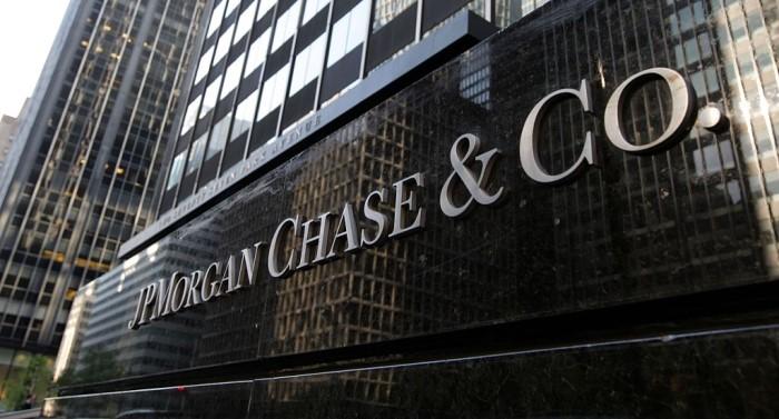 Dow Jones в ожидании JPMorgan Chase