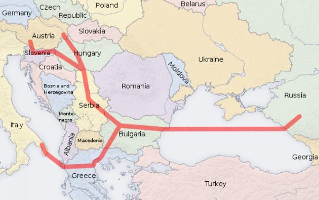 «Газпром» сохраняет планы о начале поставок газа по газопроводу «Южный поток» в Болгарию в конце 2015 года.