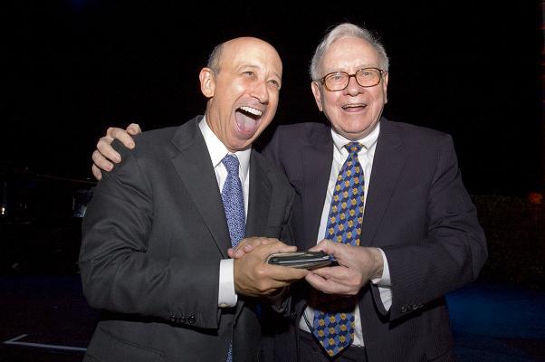 Уоррен Баффет получит 10 млн. акций Goldman Sachs бесплатно