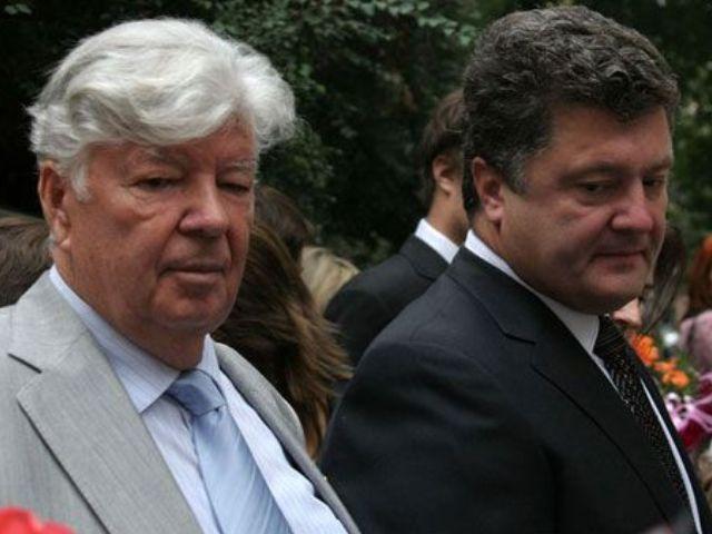 Алексей и Петр Порошенко