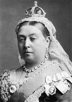 Виктория (англ. Victoria, имя при крещении Александрина Виктория, англ. Alexandrina Victoria; 24 мая 1819 — 22 января 1901) — королева Соединённого Королевства