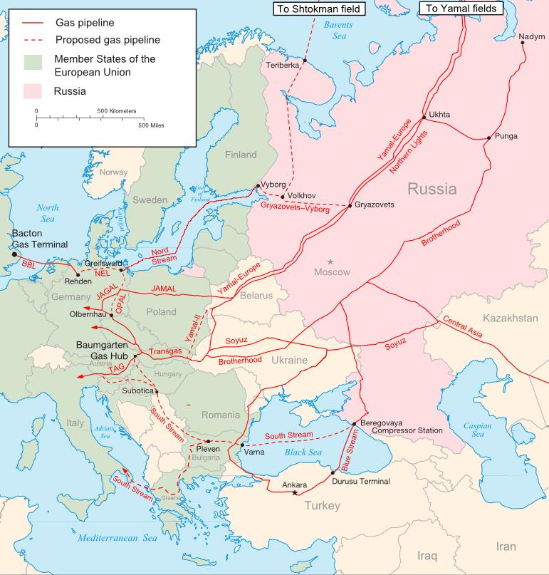 Российский «План Б»: транзит газа через Украину может быть полностью прекращён
