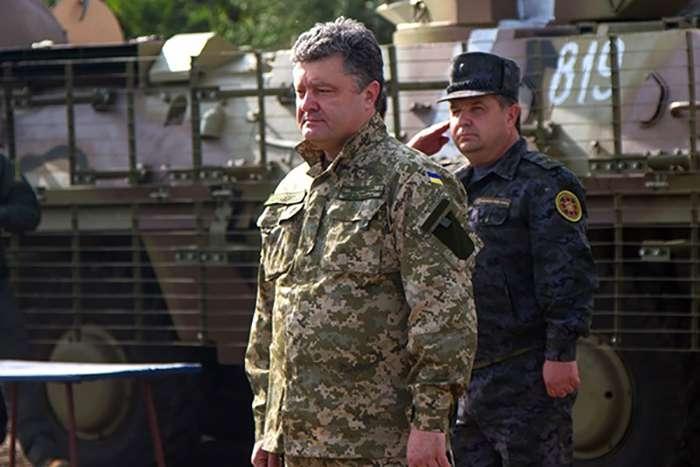 Донецкий план Порошенко: новая тактика борьбы с ополчением