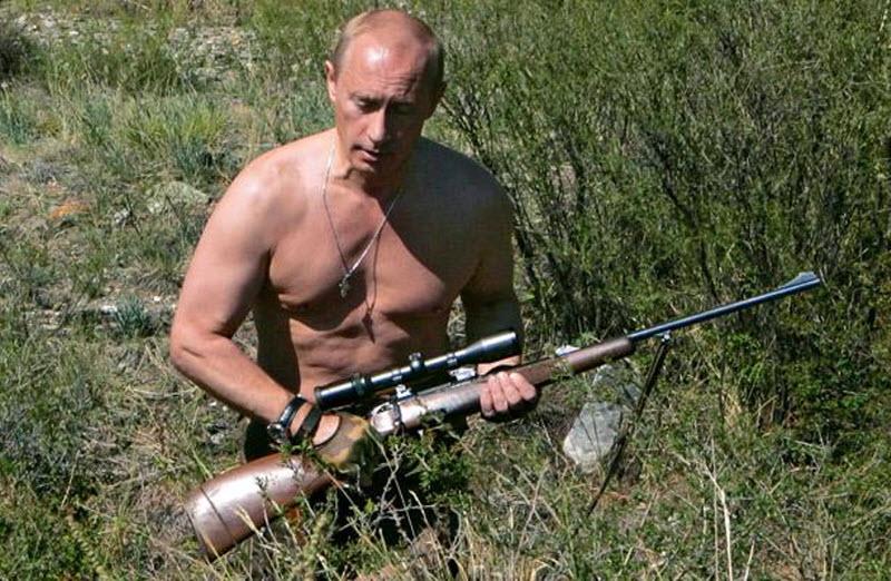 Восторженный канатоходец - украинка о Путине