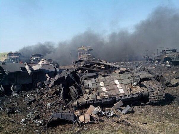 Подробности поражения южной группы войск АТО