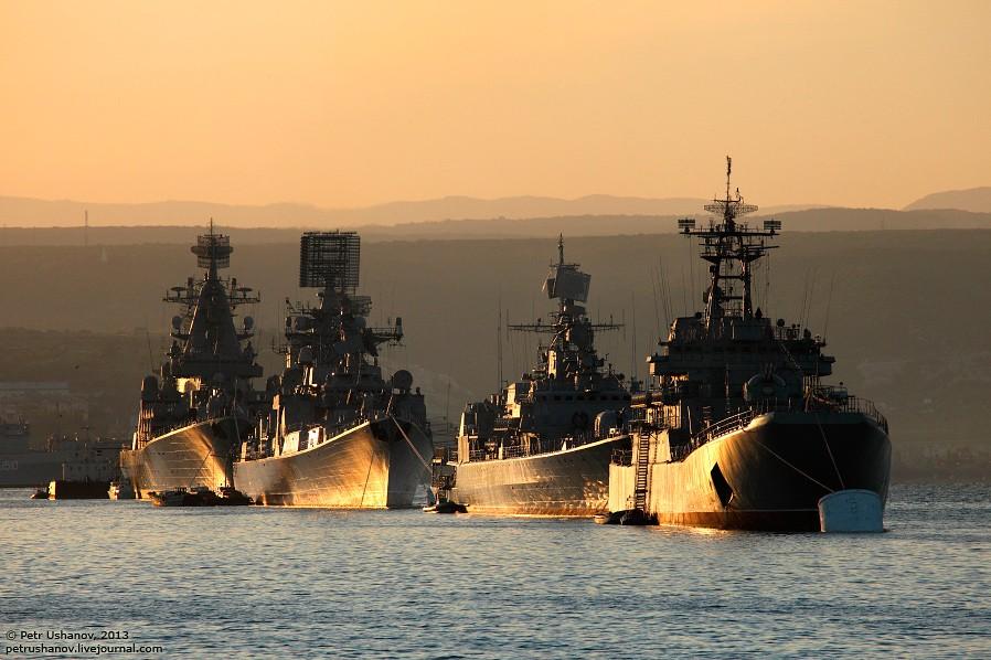 В случае агресси флота НАТО на Черном море -  им жить минуты