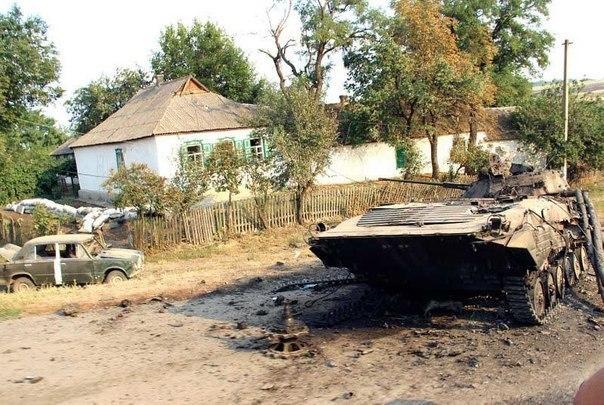 Обзор ситуации на Донбассе к 24 августа