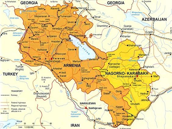 В Нагорном Карабахе вновь начались боевые действия